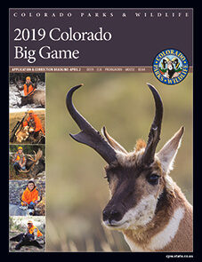 There are changes to the Application Process for Big Game Licenses this year